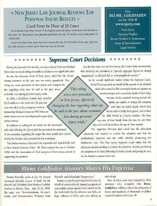 New Jersey Supreme Court Decisions