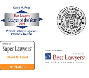 David Fried - Legal Credentials