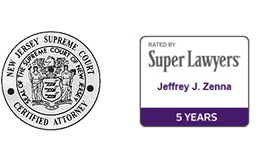 Jeffrey Zenna - NJ Super Lawyer