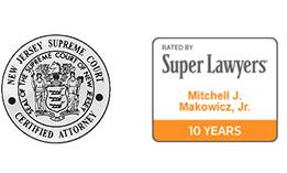 Mitchell Makowicz - NJ Super Lawyer